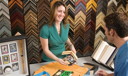 Custom Framing at FastFrame (Up to 61% Off)