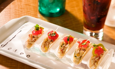 $69 for a Three-Course Prix Fixe Dinner for Two at Deseo ($124 Value)