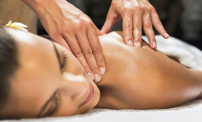 image for One-Hour Aromatherapy Full-Body Massage at REM Laser Clinic (70% Off)