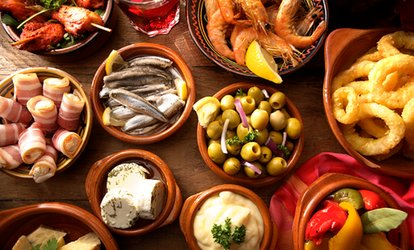 image for Five or Ten Tapas with Wine or Sangria for Two or Four at La Rambla (41% Off)