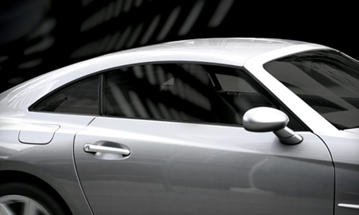 HP Racing - Glen Burnie: $89 for Full Car-Window Tinting for Up to Five Windows at HP Racing ($180 Value)