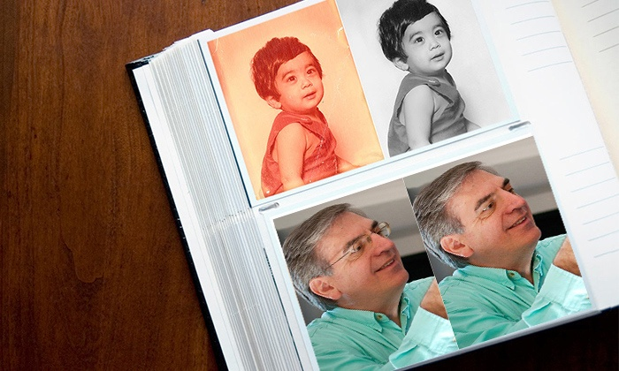 MyPublisher: Face Retouching or Photo Restoration for 1, 5, or 10 Photos from MyPublisher (Up to 65% Off)