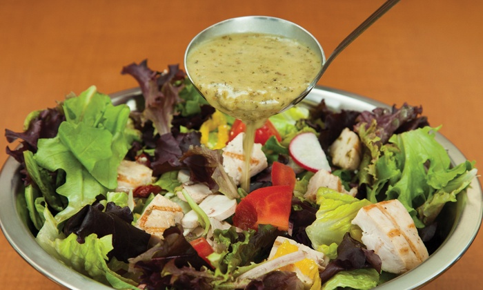 Salata - Grananda Hills: $12 for Two Groupons, Each Good for $10 Worth of Salads and Wraps at Salata ($20 Value)