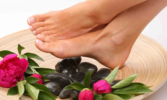 Tranquil Nail Studio - Nashville-Davidson metropolitan government (balance): Hot-Stone Pedicure with Optional Manicure at Tranquil Nail Studio (Up to 52% Off)