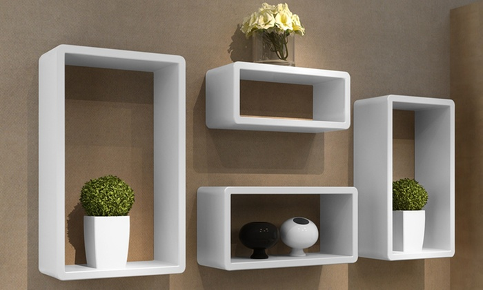 Tag res carr es ou cubes murales groupon shopping for Cubi da parete ikea