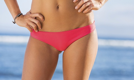 Brazilian Wax with Optional Half Leg and Eyebrow Wax at Jules Beauty
