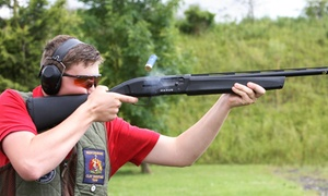 Sporting Targets: Clay Pigeon Shooting Lesson For One, Two or Four from £37.50 at Sporting Targets (Up to 50% Off)