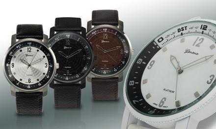 Geneva Platinum Ambition Collection Men's Watch