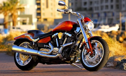 Motorcycle Inspection or Routine Inspection and Tune-Up at Galaxy Powersports and Automotive (Up to 51% Off)