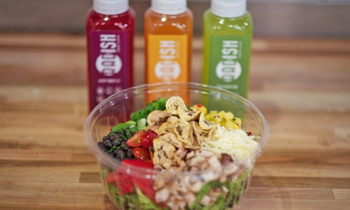 Radish - Downtown Phoenix: $24 for Two Salads and Two Cold-Pressed Juices at Radish (Up to $35.50 Value)