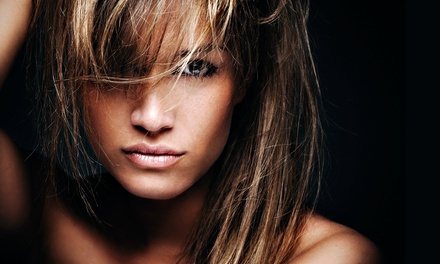 Haircare Packages at Above and Beyond Hair and Nail Salon (Up to 69% Off). Three Options Available.