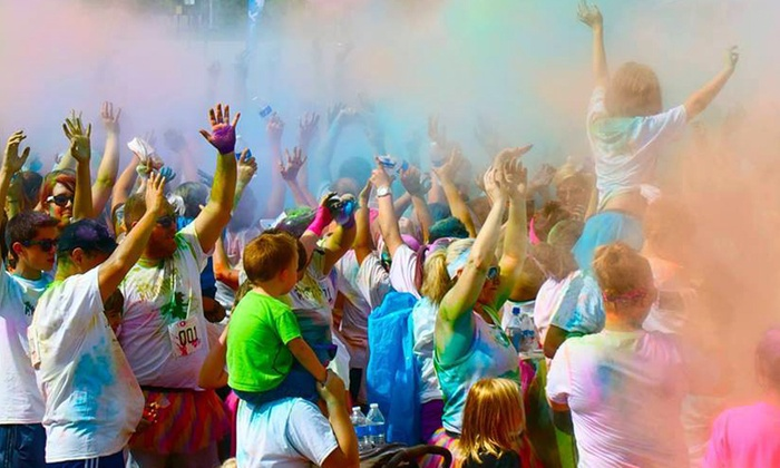 The Color Dash - Multiple Locations: $29 for Entry to the Color Dash 5K on March 21 ($45 Value)