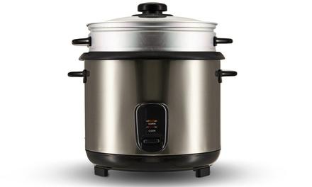 Cuiseur à riz à vapeur PEM en inox