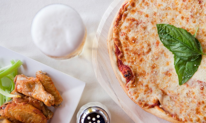 Marvin Mozzeronis - Greece: Pizza, Wings, and Italian Food at Marvin Mozzeronis (Up to 50% Off). Two Options Available.