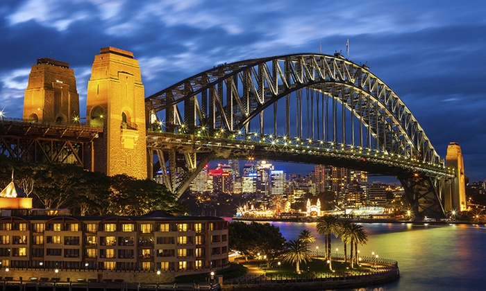 Sydney Princess Cruises - Darling Harbour: 90-Min Vivid Cruise with Food + Drink - Weekday ($39) or Weekend ($49) with Sydney Princess Cruises (Up to $90 Value)