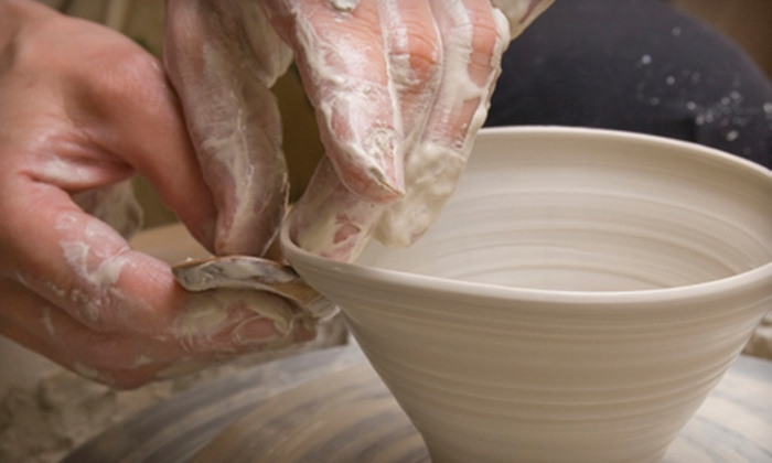 The Pottery - Toronto: Two-Hour Daytime, Evening, or Weekend Potter's-Wheel Pottery Class at The Pottery (Half Off)