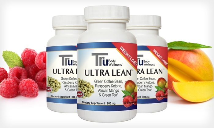 Tru Ultra Lean Weight-Loss Supplement: 1, 2, or 3 Bottles of Tru Ultra Lean Weight-Loss Supplement (Up to 79% Off). Free Shipping on Purchases of $15 or More.