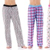 Women's Pajama Lounge Pants (4-Pack) (Size Large)