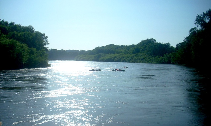 Raccoon River Excursions - Gray's Woods: Tube Rental on Saturday or Sunday from Raccoon River Excursions (48% Off)