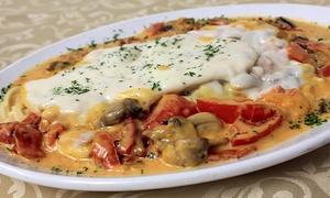 Cafe Sicilia: $8 for $18 Worth of Pizza and Italian Food at Café Sicilia
