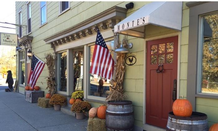 Monte's Local Kitchen & Tap Room - Amenia: $12 for $30 Worth of Steak-House Fare — Monte's Local Kitchen & Tap Room