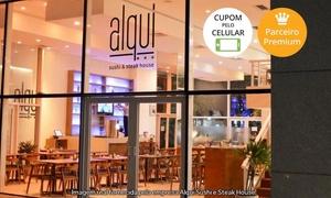 Alqui Sushi e Steak House: Alqui Sushi – Cidade Nova: 2 opções de rodízio + mexicano e bebidas