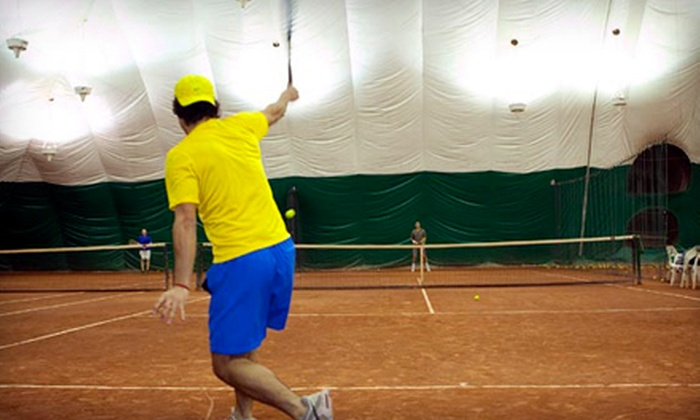 Sutton East Tennis Club - Upper East Side: One Hour of Court Time, or Five Pee Wee or Adult Tennis Clinics at Sutton East Tennis Club (Up to 66% Off)