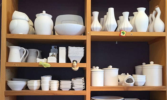 Clay Cafe - Grandview Heights: $16 for BYOB Paint Your Own Pottery Session with Materials at Clay Café ($30 Value)