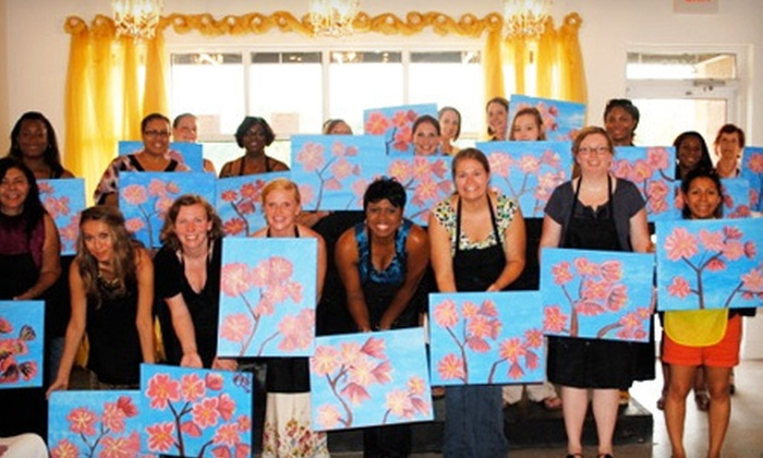 A Toast To Art - McDonough: Two-Hour BYOB Painting Class for 2, 4, or 12 at A Toast To Art (Up to 60% Off)