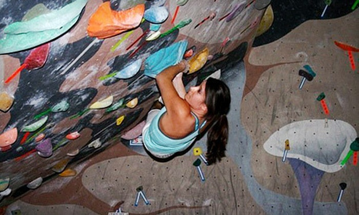 Phoenix Rock Gym - Tempe: One Day of Rock Climbing with Equipment for One or Two at Phoenix Rock Gym in Tempe (Up to 58% Off)