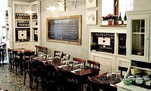Mastro Ciccia: Menu del Mastro di 4 portate e una o 2 bottiglie di vino per 2 o 4 persone da Mastro Ciccia (sconto fino a 70%)