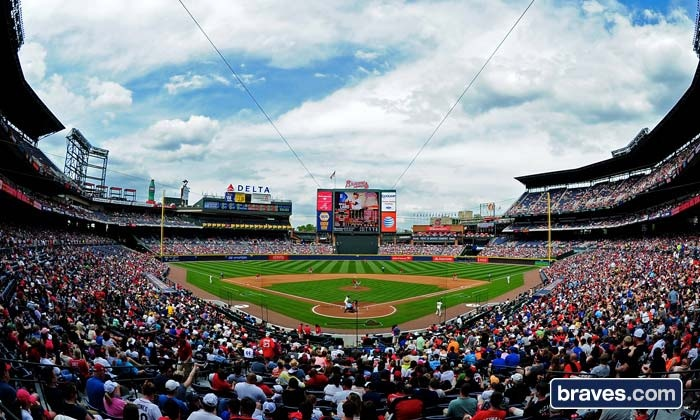 Atlanta Braves - Turner Field: Atlanta Braves Baseball Game at Turner Field (Up to Half Off). Six Games and Three Seating Options Available.