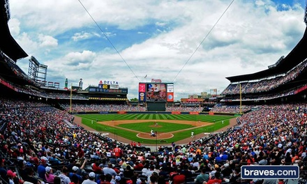 Atlanta Braves Baseball Game at Turner Field (Up to Half Off). Six Games and Three Seating Options Available.