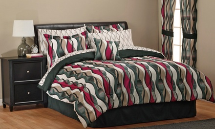 8-Piece Curvey Bedding Set