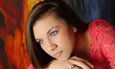 Senior-Portrait Photo Shoot with Hair and Makeup, Including Print and Digital Images at Glamour Shots (Up to 84% Off)
