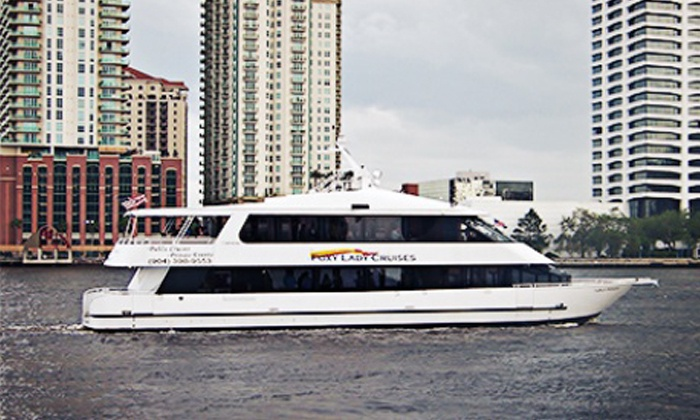 Foxy Lady Cruises - Jacksonville: $24.95 for a Cocktail Cruise for Two on January 23, 24, or 25th from Foxy Lady Cruises ($49.90 Value)