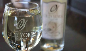 Old York Cellars: Wine and Chocolate Tasting with Souvenir Glasses for Two or Four at Old York Cellars (Up to 48% Off)