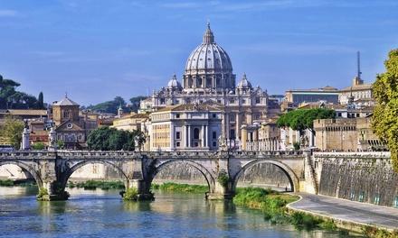 Rome: tot 3 nachten met ontbijt en spa voor 2 personen in hotel Romanico Palace