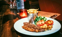 Sirloin or Rib-Eye Steak Dinner for Two or Four at Saint Judes