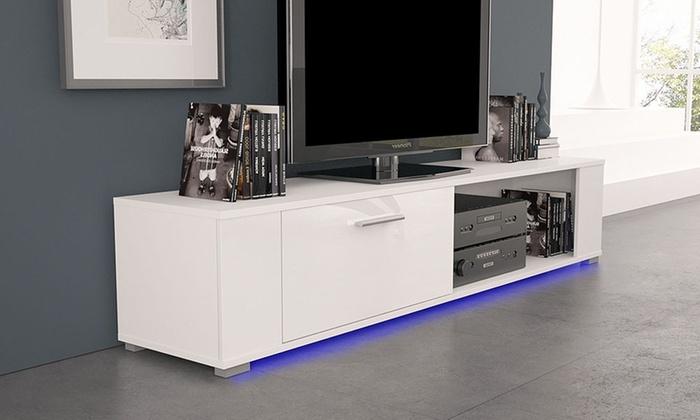 meuble tv orkus groupon. Black Bedroom Furniture Sets. Home Design Ideas