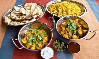 image for Two-Course Indian Meal with Sides and Optional Drinks for Two at Jahangir Tandoori Restaurant (Up to 59% Off)