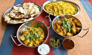 Curry Nights Restaurant and Bar: $26 for Indian Dinner for Two at Curry Nights Restaurant and Bar ($41.98 Value)