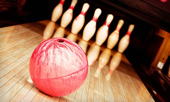 Center Bowl - Anchorage: $20 for One Hour of Bowling and Shoe Rental for Up to Five at Center Bowl (Up to $45 Value)