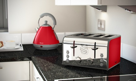 Swan Kettle and Toaster in Choice of Colour for £69.98 With Free Delivery (59% Off)