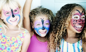 Face Fantazee: Two or Three Hours of On-Location Face Painting or Glitter Tattoos from Face Fantazee (50% Off)