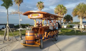 PedalPub St. Pete: Two-Hour Ride for Up to 16 from PedalPub St. Pete (Up to 42% Off). Two Options Available.