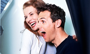 Planet DJs: Three- or Four-Hour Photo-Booth Rental with Prints and Props from Planet DJs (Up to 60% Off)