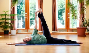 Yoga In Daily Life: Four or Eight Yoga Classes at Yoga In Daily Life (Up to 59% Off)