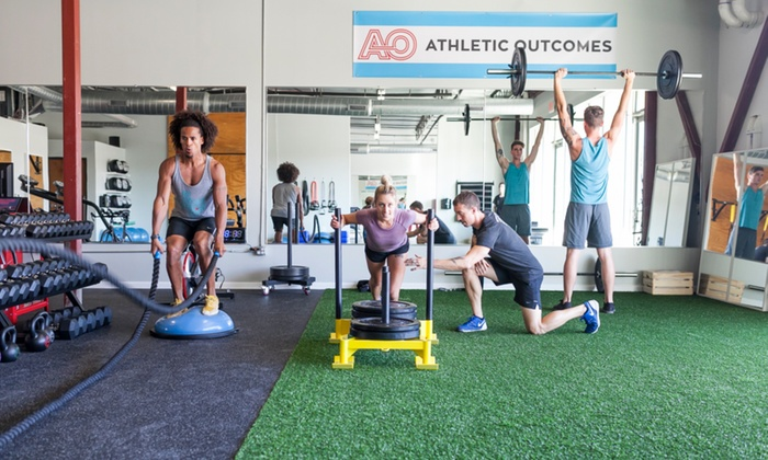 Athletic Outcomes - Riverside: Work Out in a Supportive Group Setting with Five Fitness Classes at Athletic Outcomes