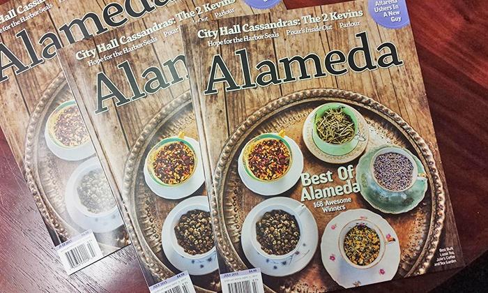 "Alameda Magazine: $11 for One-Year ""Alameda"" Magazine Subscription ($20 Value)"